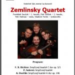 Zemlinsky Quartet concert